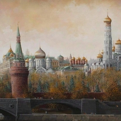 Пазл онлайн: Кремль