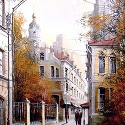 Пазл онлайн: Осенняя Москва