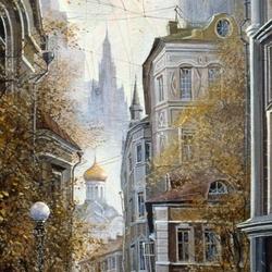 Пазл онлайн: Переулочки Москвы