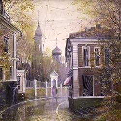 Пазл онлайн: Прогулка по старой Москве
