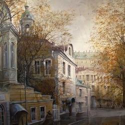 Пазл онлайн: Переулок