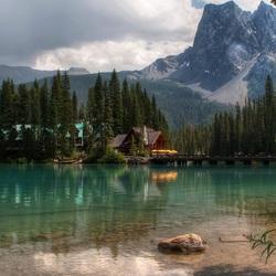 Пазл онлайн: Отдых на озере