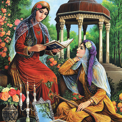 Пазл онлайн: Персидские красавицы