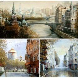 Пазл онлайн: Моя Москва