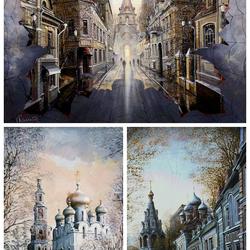 Пазл онлайн: Храмы Москвы