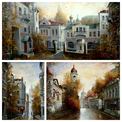 Пазл онлайн: Московская осень