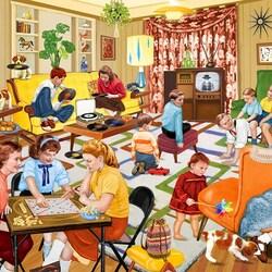 Пазл онлайн: Родственники в гостях