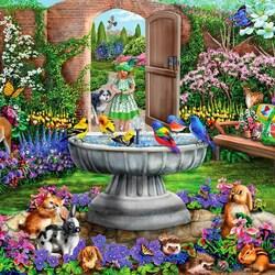 Пазл онлайн: Скрытый сад