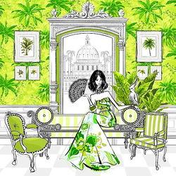 Пазл онлайн: В тропическом стиле