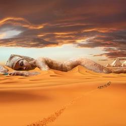 Пазл онлайн: Пустыня