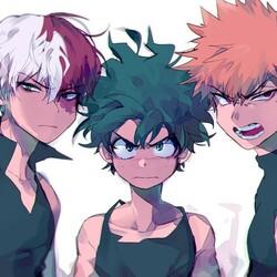 Пазл онлайн: Три героя