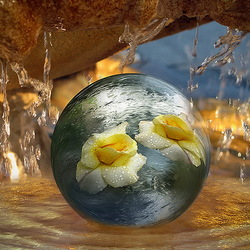 Пазл онлайн: В капле воды