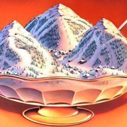 Пазл онлайн: Сладкая зима