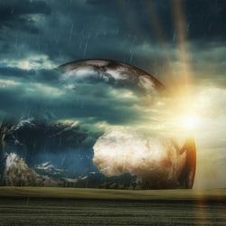 Пазл онлайн: Дождь и солнце