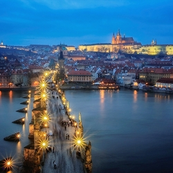 Пазл онлайн: Магическая Прага