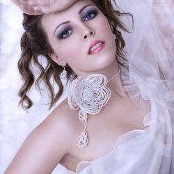Пазл онлайн: Белый цветок