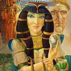 Пазл онлайн:  Клеопатра
