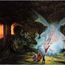 Пазл онлайн: Сияющий дракон