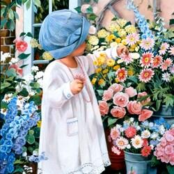 Пазл онлайн: Любимый цветочек