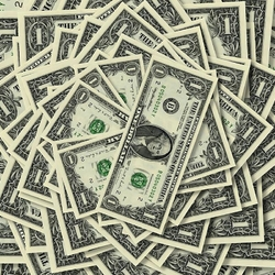 Пазл онлайн: Доллары