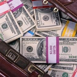 Пазл онлайн: Чемодан денег