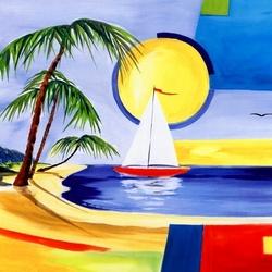 Пазл онлайн: Карибское солнце