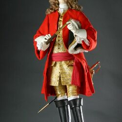 Пазл онлайн: Исторические лица Англии в куклах