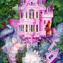 Пазл онлайн: Замок спящего дракона