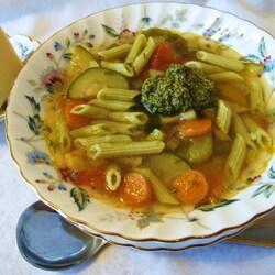 Пазл онлайн: Суп «Минестроне»