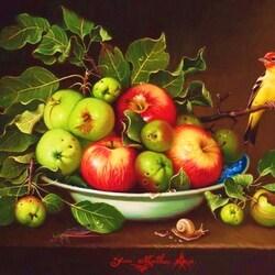 Пазл онлайн: Яблочная симфония