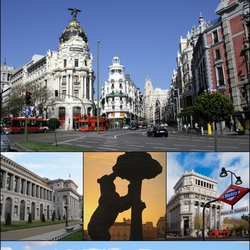 Пазл онлайн: Мадрид