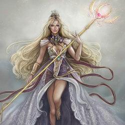 Пазл онлайн: Светловолосая принцесса