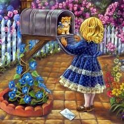 Пазл онлайн: Прибыл по почте
