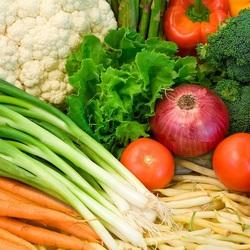Пазл онлайн: Овощное рагу