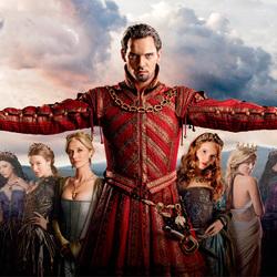 Пазл онлайн: Генрих VIII и его супруги