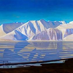 Пазл онлайн: Гренландский пейзаж