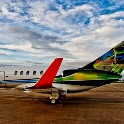 Пазл онлайн: Пассажирский самолет