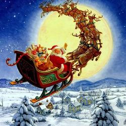 Пазл онлайн: Всем веселого Рождества!