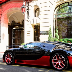 Пазл онлайн: Bugatti Veyron Supersport Vitesse
