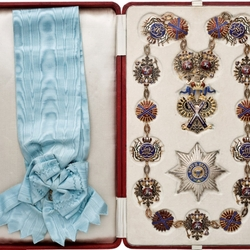 Пазл онлайн: Императорский орден Святого апостола Андрея Первозванного
