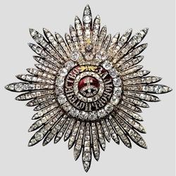 Пазл онлайн: Звезда Ордена Святой Екатерины