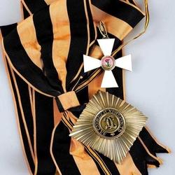 Пазл онлайн: Императорский Военный орден Святого Великомученика и Победоносца Георгия