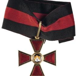 Пазл онлайн: Знак к Ордену Святого Владимира