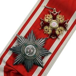 Пазл онлайн: Императорский и Царский Орден Святого Станислава