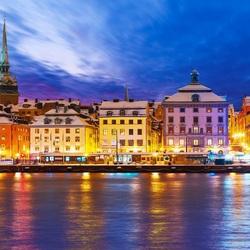 Пазл онлайн: Стокгольм. Набережная