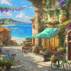 Пазл онлайн: Итальянское кафе