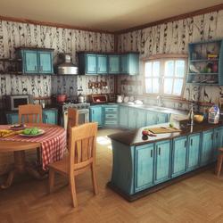 Пазл онлайн: Идеальная кухня