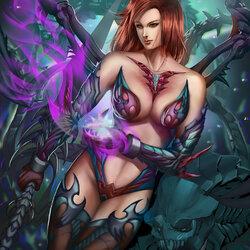Пазл онлайн: Королева монстров