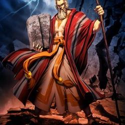 Пазл онлайн: Моисей