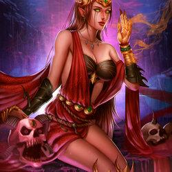 Пазл онлайн: Шепчущая ведьма